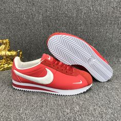 Nike Classic Cortez Nylon Embroidery Red White