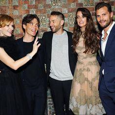Jamie and Anthropoid cast at Premiere After Party #jamiedornan #charlottelebon #seanellis #cillianmurphy #dakotajohnson #fiftyshades #fiftyshadesofgrey #fiftyshadesdarker #fiftyshadesfreed #fiftyshadestrilogy #christiangrey #thefall #paulspector #onceuponatime #sheriffgraham #anthropoid #nyc #newyork #newyorkcity #ameliawarner #annageislerova