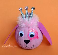 Adorable Pink Princess Puppy Craft & Decoration