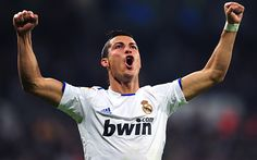 Christiano Ronaldo.  Barcelona soccer star. This is what I stumbled upon at the gym today while forced to watch sports center.  Totally worth it.