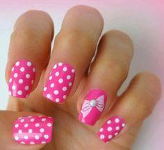 30 Special Summer Nail Designs # Thumbnail Design # Pastel # Thumbnail Des… - All For Hair Color Trending Creative Nail Designs, Creative Nails, Nail Art Designs, Gel Nail Art, Nail Polish, Beauty Formulas, Nail Forms, Polka Dot Nails, Polka Dots