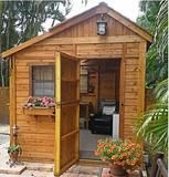 Outdoor Living Today - 8 x 8 Sunshed Garden Shed with Dutch Door