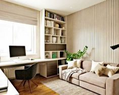 home office idea. built in desk. pull out couch for guest. like color scheme too home office idea. built in desk. pull out couch for guest. like color scheme too – Mesa Home Office, Home Office Space, Home Office Desks, Mens Room Decor, Home Decor, Guest Bedroom Office, Study Room Design, Study Room Decor, Study Rooms