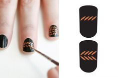 Nail Art Designs - Runway Nail Art DIY