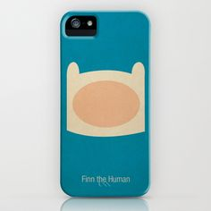 Minimalist Adventure Time Finn iPhone Case by Lalalaokay - $35.00