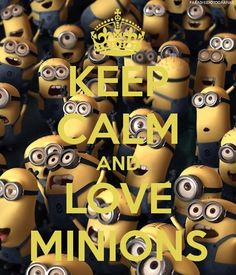 Minions from Despicable Me. My great nephew Roman has me obsessed with this movie. We have watched it at least 20 times together.