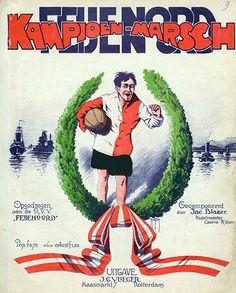 Poster Feyenoord kampioenmarsch 1921