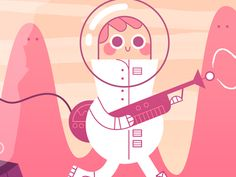 Spaceman by Hey Hey Momo!