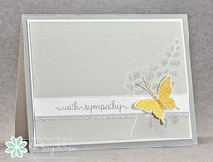 Sympathy Butterfly from Joyful Creations with Kim using the sketch from Freshly Made Sketches.
