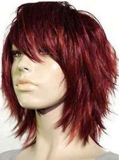Hot! Charming short red hair women's Cosplay wigs - Full Wig free shipping | Health & Beauty, Hair Care & Styling, Hair Extensions & Wigs | eBay!