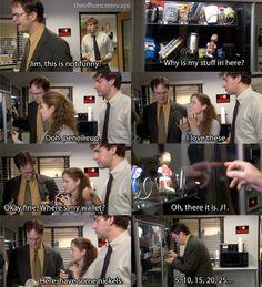 Dwight vending machine