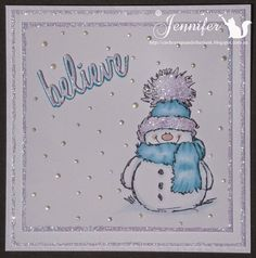 """cards, scraps, and other """"junk"""" : Let It Snow"""