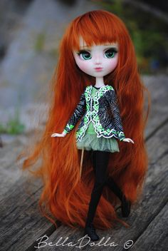 Anais : pullip custom by BellaDolla (irish dancer)
