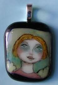 Image result for hand painted pendant