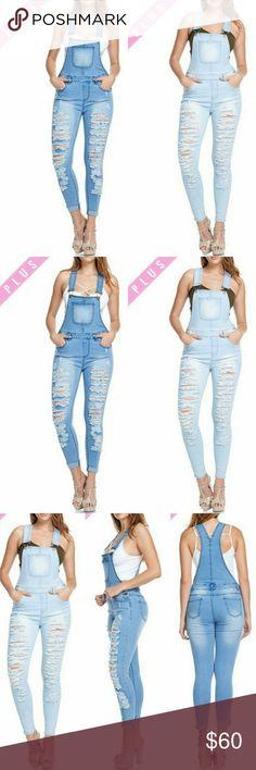 🆕🆕🆕Plus Size Denim Jumpsuit 🆕🆕🆕Plus Size Denim Jumpsuit Pants Jumpsuits & Rompers