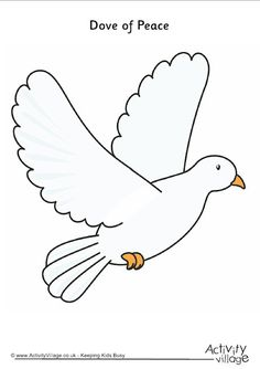 dove of peace printable