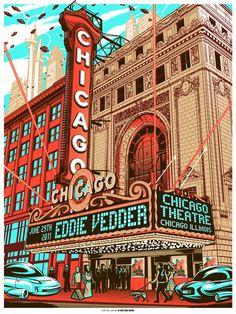 Eddie Vedder Chicago Theatre 2