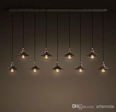 Online Shopping Pendant Lamps RH Loft Retro Industrial Pendant Lights Bedroom Living Room Pendant Lamps 454.71 | m.dhgate.com
