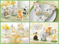 Jungle Themed Baby Shower & Birthday Party Favors from HotRef.com #jungle #babyshower #birthday #party #favors