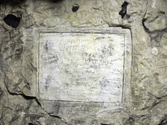 Underground WWI graffiti shows nearly 2,000 soldiers' names inside former quarry in France
