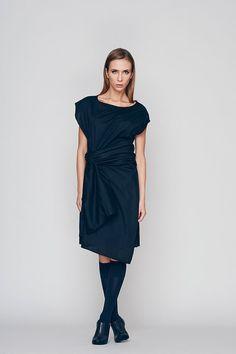 Womens Tunic, LBD, Loose Fit Dress, Cotton Tunic Dress, Sexy Dress, Pleated…