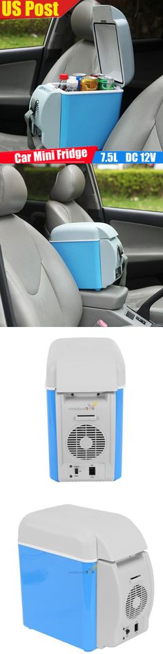 12-Volt Portable Appliances: Portable 7.5L 12V Car Small Electric Refrigerator Mini Fridge Cooler And Warmer BUY IT NOW ONLY: $35.99