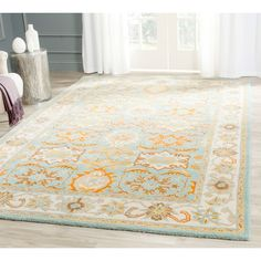 Accessories & Furniture,Affordable 4x8 Rug With Enchanting Flower Pattern Rug,Elegant 4 X 4 Rugs Design To Enchant Your Home
