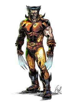 Legendary Wolverine by Fikkoro.deviantart.com