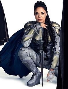 Marvel I love you but you cant just decide to redo dragon fangs design like that ! Cmon think about us for a moment. Otherwise I am obviously going to make that Valkyrie suit . Marvel Women, Marvel Girls, Marvel Heroes, Marvel Characters, Marvel Movies, Captain Marvel, Tessa Thompson, Avengers Cast, Marvel Avengers