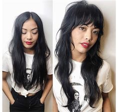 gestufte haar Shag Time: How Jayne_EdoSalon Continues to Reinvent the Shag Haircut - Hair Cutting - Modern Salon Oval Face Hairstyles, Bob Hairstyles, Straight Hairstyles, Spring Hairstyles, Party Hairstyles, Modern Shag Haircut, Long Shag Haircut, Shaggy Long Hair, Long Layered Hair