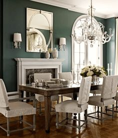 marshall-watson-1567-benjamin-moore Night Train link to palette for no-fail paint colors Laurel Home