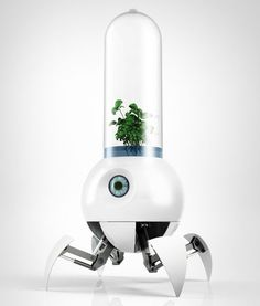 Robot Designed to Help Earth Plants Grow on Mars : TreeHugger