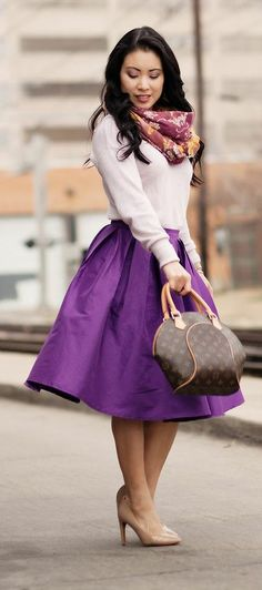 Pretty in Plum ♥