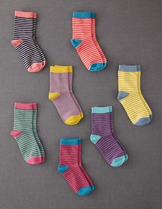 7 Pack Sock Box #miniboden #teacollection