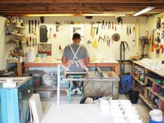 Design Diary is a new regular series on Fancy. Taus Ceramic has been a long time in the making. For the last 10 years, Tim Grocot. Woodworking Shop, How To Find Out, Cool Designs, Fancy, Ceramics, Kiwi, Bed, Projects, Furniture