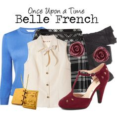 """Belle"" by charlizard on Polyvore"