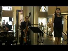 "Leena Salim & Afternoon Instrumental Duet performing  ""Under The Boardwalk"" at Paragon Shopping Centre.    ""Under the Boardwalk"" is a hit pop song written by Kenny Young and Arthur Resnick and recor..."