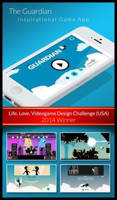The Guardian. App game against Teen Dating Violence. // 1st price Winner. TDV Challenge. USA (2014)