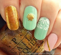 Nail Treasures #nail #nails #nailart