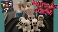 Frozen Fever - How to make Marshmallow Snowgies Mini Snowmen from Elsa's Sneezing!