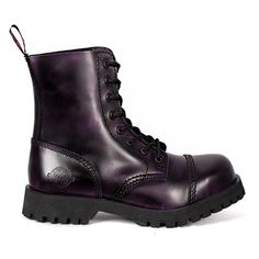Nevermind PURPLE 8-eye Boots @ SinisterSoles.com
