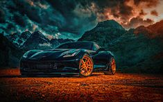Chevrolet Corvette Z Side HD Wallpaper Hd Wallpapers Of Cars, Car Backgrounds, Wallpapers Android, Photo Background Images, Editing Background, Picsart Background, Full Hd 1080p, 4k Hd, Chevrolet Corvette