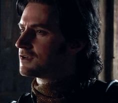 "113  (gif) - Marian: ""Did you try to kill the King in the Holy Land?""  Guy: ""Pardon?""  Marian: ""Is it true?"" - *that smirk!*"
