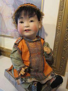 J D K Kestner Oriental Boy Mold 243 13 in Tall All Original | eBay