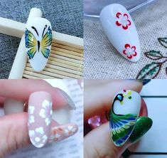 Nail Art Designs Videos, Nail Art Videos, Best Nail Art Designs, Funky Nail Art, New Nail Art, Cool Nail Art, Gel Nails, Acrylic Nails, Manicure