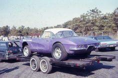 Purple Corvette