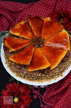 Tort Dobos - CAIETUL CU RETETE Watermelon, Caramel, Fruit, Food, Sticky Toffee, Candy, Essen, Meals, Yemek