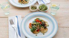 Recipe: Pulled Chicken Salad with Basil Pesto | Stuff.co.nz
