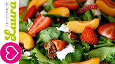 Ensalada Verde con Mango y Fresas♥Recetas de San Valentín♥Green Salad wi...