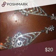 Fancy silver earrings New Jewelry Earrings